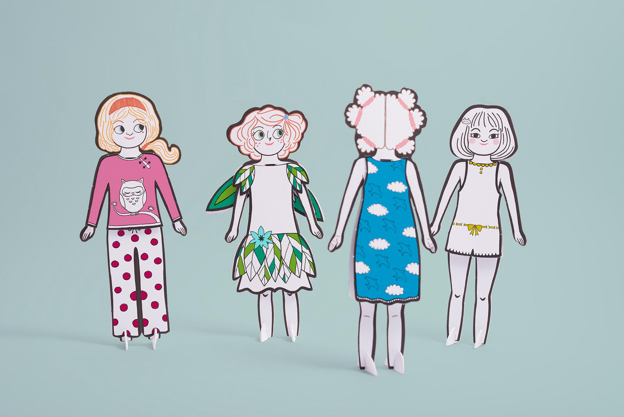 Mes poupées à décorer